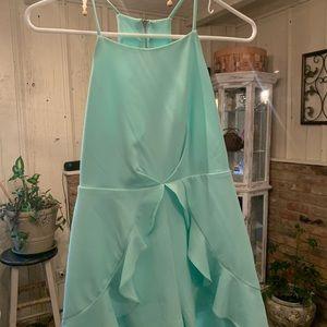 Mint green girls romper  mint condition!👗